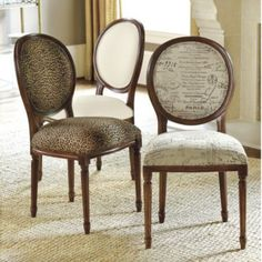 Round Louis Side Chair | Ballard Designs