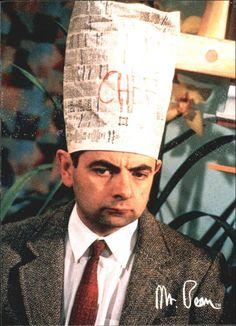 1998 Mr. Bean #54 Chef Bean Mr Bean, Bean The Movie, Rowan, Excited Face, Johnny English, Blackadder, Film Movie, Comedians, Beans