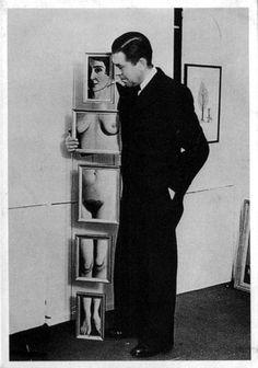 René Magritte et L'evidence Eternelle 1938