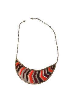 Multicolor Collar Necklace.