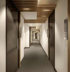 picture of condo hallways Bing Spa Interior, Lobby Interior, Modern Interior Design, Kitchen Interior, Hotel Hallway, Hotel Corridor, Corridor Lighting, Flur Design, Hallway Designs