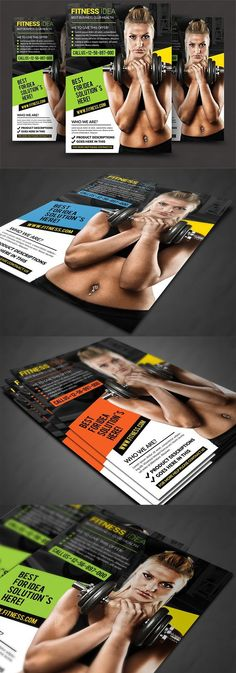 Fitness Flyer - fitness flyer template
