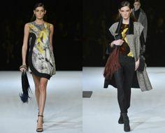 Roaring Twenties auf Italienisch!  mehr unter: www.gf-luxury.com/roberto-cavalli-kollektion-autumn-winter-2014-2015.html