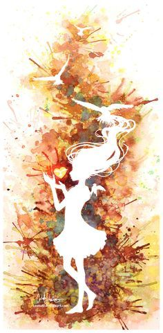 Ideas painting watercolor girl negative space for 2019 Watercolor Masking Fluid, Watercolor Negative Painting, Space Watercolor, Watercolor Girl, Space Painting, Stencil Painting, Watercolor Paintings, Watercolour Tattoos, Painting Walls