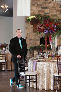 David Cole Snook, Certified Wedding Planner - Owner/Designer of Mx2 Event Design