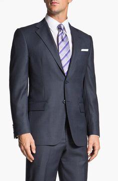 f62a860001c Joseph Abboud  Signature Silver  Wool Suit (Online Exclusive)