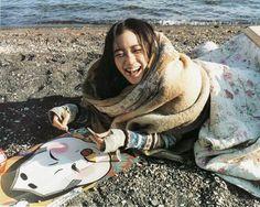 Yu Aoi, mori girl style icon.