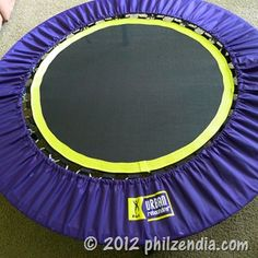 J is for Jumping – Urban Rebounder Folding Trampoline Workout System Review
