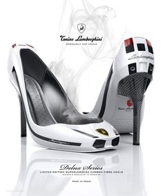 Lamborghini Shoes... Lambo for her....