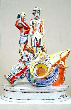 viola frey | Viola Frey sculpture
