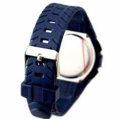 DW325G Sötétkék Watchcase Chronograph Alarm vízálló fiú lány Digital Watch