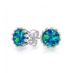 Bling Jewelry Silver October Birthstone Round Crown Blue Opal Stud Earrings 6mm Bling Jewelry http://www.amazon.com/dp/B00OJGJKJI/ref=cm_sw_r_pi_dp_Ru7uub09HEZ5Z
