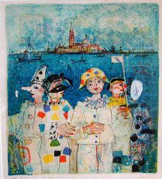 108: Paul Aizpiri ( French 1919 - )Litho. : Lot 108