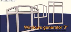 Windows Generator 3 adds Cycles support and history