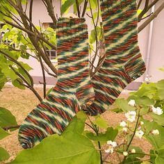 Ponožky barevný podzim