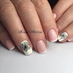 Маникюр | Ногти French Nails, Instagram Posts, Beauty, Nail Care, Filter, Dreams, French Tips, Beauty Illustration, White Tip Nails