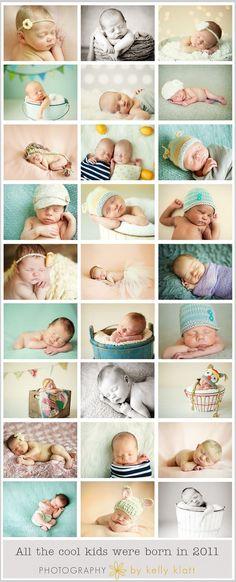 Inspiration For New Born Baby Photography : newborn photo ideas