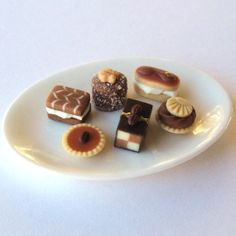 Coffee Cake Collection MerciaMiniatures on Etsy