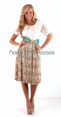 Summer modest dresses