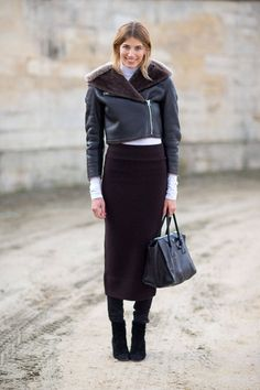 Veronika Heilbrunner   Street Style: Paris Fashion Week Fall 2014