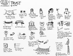 Visual Metaphor -Trust #Sketchnotes