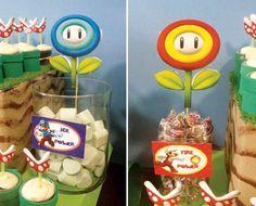 super mario birthday ideas | Clever Super Mario Brothers Party Ideas | Birthday fun!