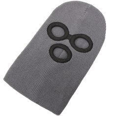 Amazon.co.jp: フェイスマスク(目だし帽 ニット帽) デストロイヤー グレー: 服&ファッション小物