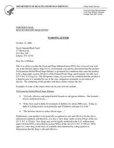 Visa withdrawal letter request letter format letter and emailvisa warning letter to sweet sunnahwarning letter for absent application letter sample spiritdancerdesigns Image collections