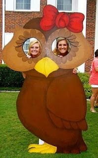 What a cute bid day idea/house party idea!!! Make it a lady bug with some of the dots cut out for faces :)