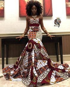 African Prom Dresses, Latest African Fashion Dresses, African Inspired Fashion, African Dresses For Women, African Print Fashion, African Women, Ankara Fashion, African Prints, Fashion Clothes