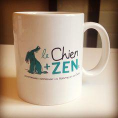 Le mug du chien+zen