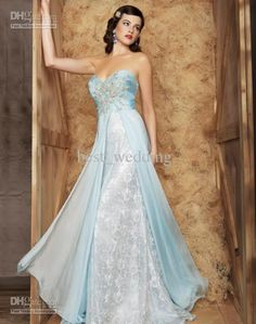 Wholesale Prom Dress - Buy 2015 Rare Light Blue Prom Dresses Sweetheart Lace Applique Beaded A-line Celebrity Gowns Floor Length Evening Dress Prom Dress PD962, $128.8 | DHgate.com