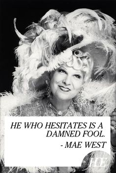 Mae West - In 1932, West was offered a motion picture contract by Paramount Pictures despite being close to 40. This was an unusually high age to begin a movie career, especially for women, but she nonetheless managed to keep this fact ambiguous for some years. She made her film debut in Night After Night starring George Raft.