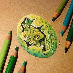 Forest dragon hatchling by AlviaAlcedo on DeviantArt