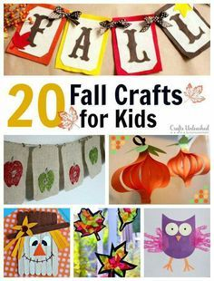 Some cool ideas for kiddies of all ages!