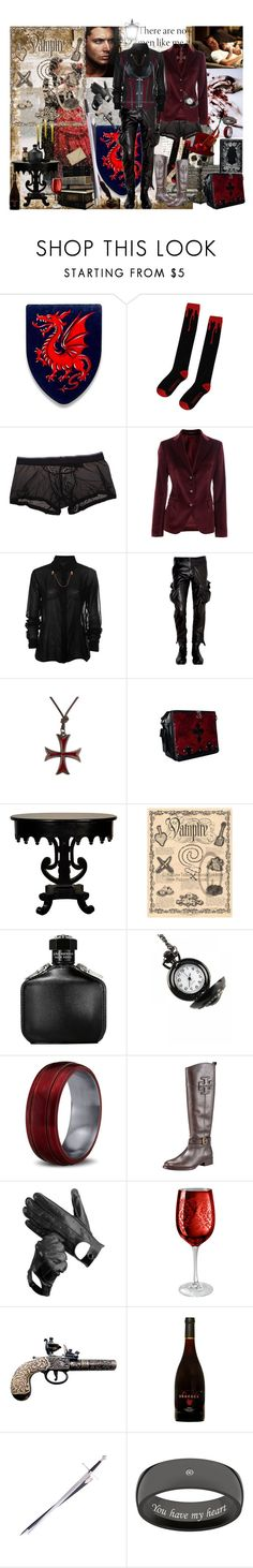 """""""Essential Sam"""" by verysmallgoddess ❤ liked on Polyvore featuring Shield, Tagliatore, Ann Demeulemeester, John Varvatos, Tory Burch, Aspinal of London, Artland, Sweet Sentiments, men's fashion and menswear"""