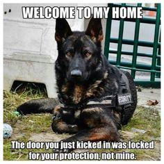 This is so true!! Knock down a door  see what happenes❤