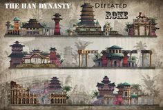 The Han Dynasty defeated Roma, wang xin on ArtStation at http://www.artstation.com/artwork/the-han-dynasty-defeated-roma