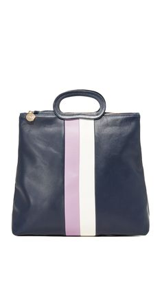 Dezente Bold Stripes auf einem Alltags-Shopper