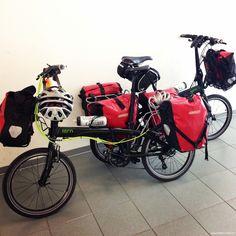Para viajar... ¿bici plegable o de montaña?  Aquí van mis reflexiones y puntos de vista después de hacer viajes con los dos tipos de bicicletas.  Post de respuesta a Javi, un lector del blog.  http://www.viajarenbicicleta.es/viajar-bicicleta-plegable-montana/