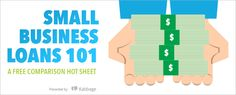 Free Hot Sheet: Small Business Loans 101 Small Business Resources, Business Grants, Small Business Start Up, Financial Analysis, Financial Information, Young Entrepreneurs, Money Management, Personal Finance, Learning