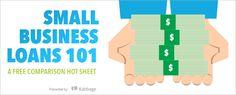 Free Hot Sheet: Small Business Loans 101