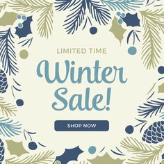 Limited Time: Winter Sale | Free Fall + Winter promo graphics for your online store from Volusion