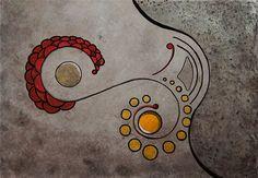Ciclos Infinitos - Obra de arte de Quim Alcantara