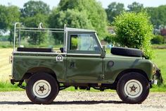 Image result for light green land rover series