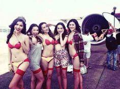 Foto Bugil Bikini Pramugari VietJet Air Vietnam
