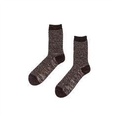 RVLT 9210 Socks || Socken für den Winter. Sie lassen sich angenehm tragen und sehen durch ihr meliertes Muster einfach schick aus.
