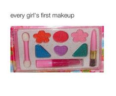 So true but the only makeup that i never use thou lol