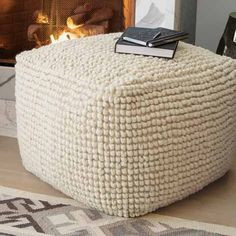 Giant Pouf Ottoman-Large Round Ottoman-Giant Floor Pillow-Jumbo ...