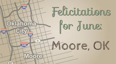 Felicitations for June: Moore, OK | Felicity Huffman's What The Flicka? #newsletter #note #tornado #oklahoma #okc